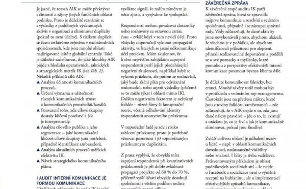 Audit internej komunikacie 2z3