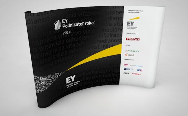 EY Podnikatel roka stena