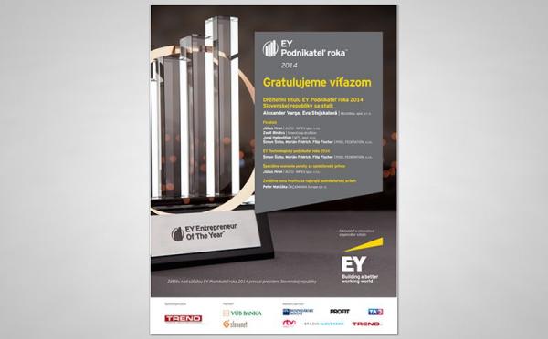 EY Podnikatel roka inzercia