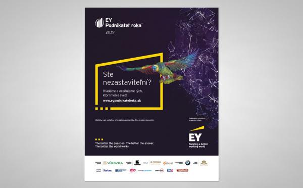 EY Podnikatel roka 2019 Inzercia